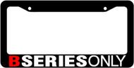B Series License Plate Frame