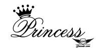 Princess Sticker Decal