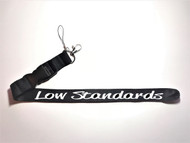 Low Standards Lanyard Black/White