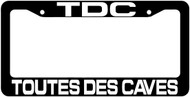 TDC License Plate Frame