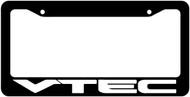 Vtec License Plate Frame