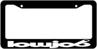 Lowjob License Plate Frame