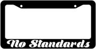 No Standards License Plate Frame