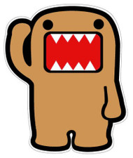 Domo Jdm  Sticker Decal