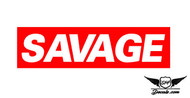 Savage Slap Sticker Decal