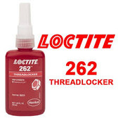 Henkel Loctite® 262 Threadlocker Adhesive 26231 Red, 50 mL bottle