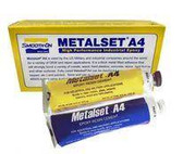 Smooth-On Metalset® Epoxy Adhesive A4-6 Metallic, 6 oz tube