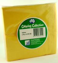 Yellow Luncheon Napkins - Pkt 50