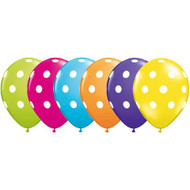 28cm Polka Dot Assorted - Loose Each