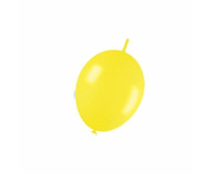 30cm Link-O-Loon - Metallic Yellow