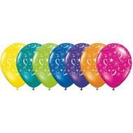 """28cm """"Balloons & Stars"""" Assorted - Loose Each"""