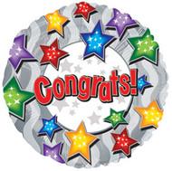 """9"""" CTI Foil - Congrats Stars"""