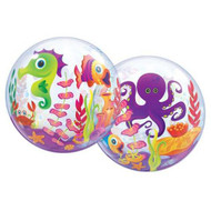 "Sea Creatures - Inflated 22"" Bubble"