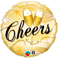 45cm Cheers - Inflated Foil