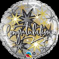 "45cm Congrats ""Elegant"" - Inflated Foil"