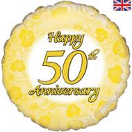 45cm Anniversary Foil - 50th