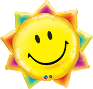 "Smiley Face ""Sunshine"" - Inflated Shape"