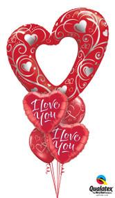 "MB6 I Love You ""Filigree"""