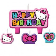 "Candles - Birthday ""Hello Kitty"""