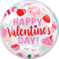 """HVD """"Everything Valentines"""" - Inflated 22"""" Bubble"""