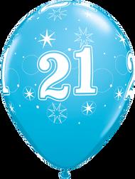 28cm #21 Robbins Egg Blue - Loose Each