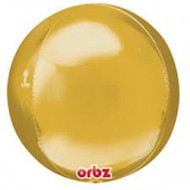 "Round Foil ""Gold Orbz"" - Flat Pack of 3"