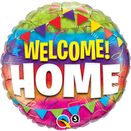 "45cm Welcome Home ""Pennants"" - Inflated Foil"