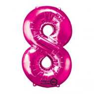 #8 Fuchsia - Inflated 86cm Shape
