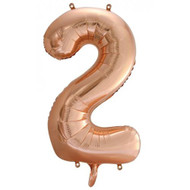 #2 Rose Gold - Inflated 86cm Shape