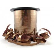 5mm x 225mtr Holographic Rust Metallic Curl Ribbon
