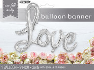 "LOVE ""Script"" Banner - Air Inflation"