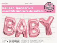 "14"" (35.5cm) Pink ""BABY"" Kit - Air Inflation"