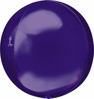 "Round Foil ""Purple Orbz"" - Flat Pack of 3"