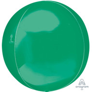 "Round Foil ""Green Orbz"" - Flat Pack of 3"