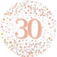 #30 Rose Gold - 45cm Flat Foil