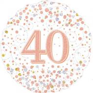 #40 Rose Gold - 45cm Flat Foil