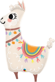 Lovable Lama - Flat Shape
