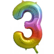 #3 Rainbow Splash - Inflated 86cm Shape