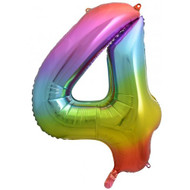 #4 Rainbow Splash - Inflated 86cm Shape