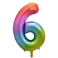 #6 Rainbow Splash - Inflated 86cm Shape