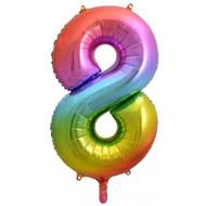 #8 Rainbow Splash - Inflated 86cm Shape