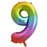 #9 Rainbow Splash - Inflated 86cm Shape