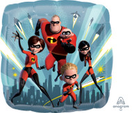 45cm The Incredibles - Inflated Foil