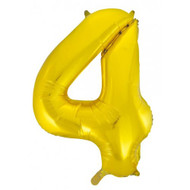 #4 Gold - Inflated 86cm Shape