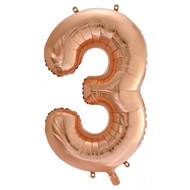 #3 Rose Gold - Inflated 86cm Shape