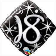 #18 Elegant - 45cm Inflated Foil