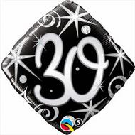 #30 Elegant - 45cm Inflated Foil