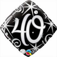 #40 Elegant - 45cm Inflated Foil