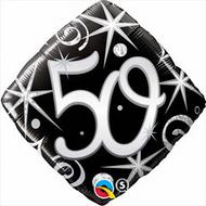 #50 Elegant - 45cm Inflated Foil