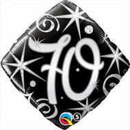 #70 Elegant - 45cm Inflated Foil